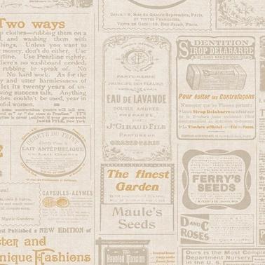 Duka Duka Dk.142351 Gazete Desenli Renkli Duvar Kağıdı 16 M2 Renkli
